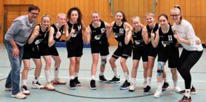 "Rats-Basketballmädchen gewinnen ""JtfO""-Landesentscheid"